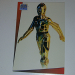 Star Wars Galaxy 1993 Topps #11 C-3po Trading card